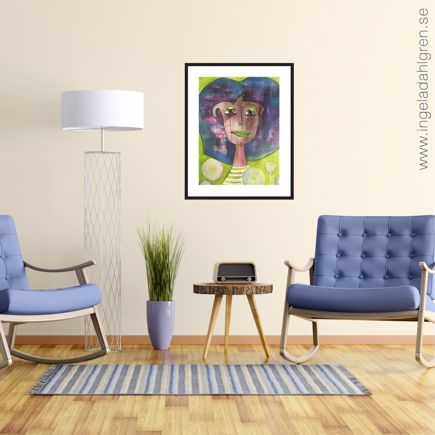Dandelion Child - Artprint