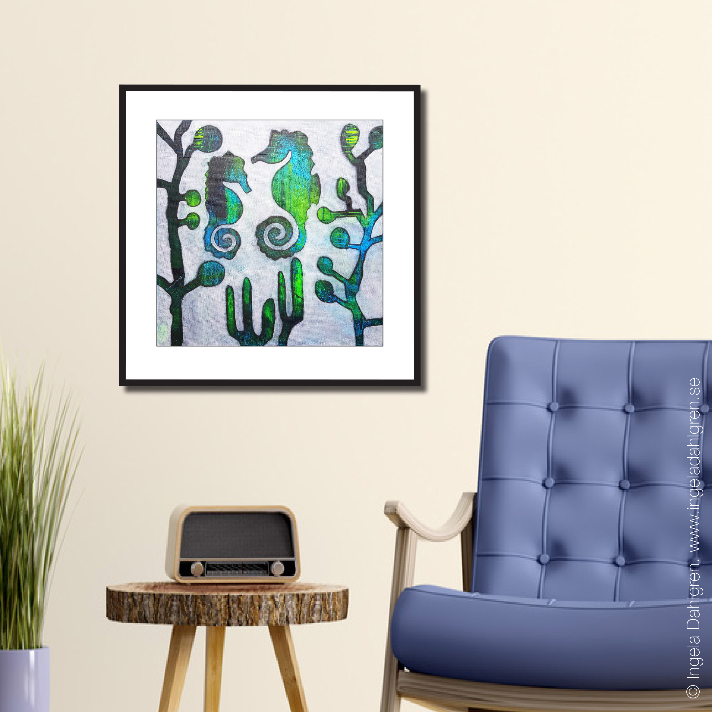 Mindful - Art print